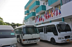 CIPLC Buses and MS HS Building