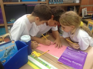 ES Students Collaborate on Literacy